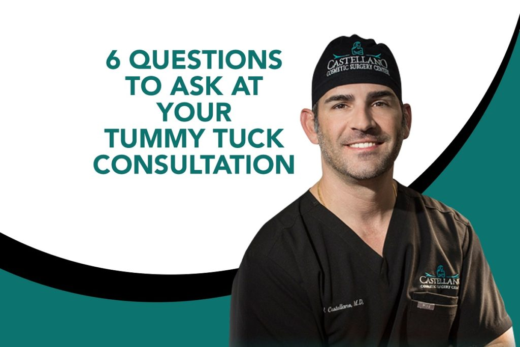 6 Questions to Ask at Your Tummy Tuck Consultation [Infographic]