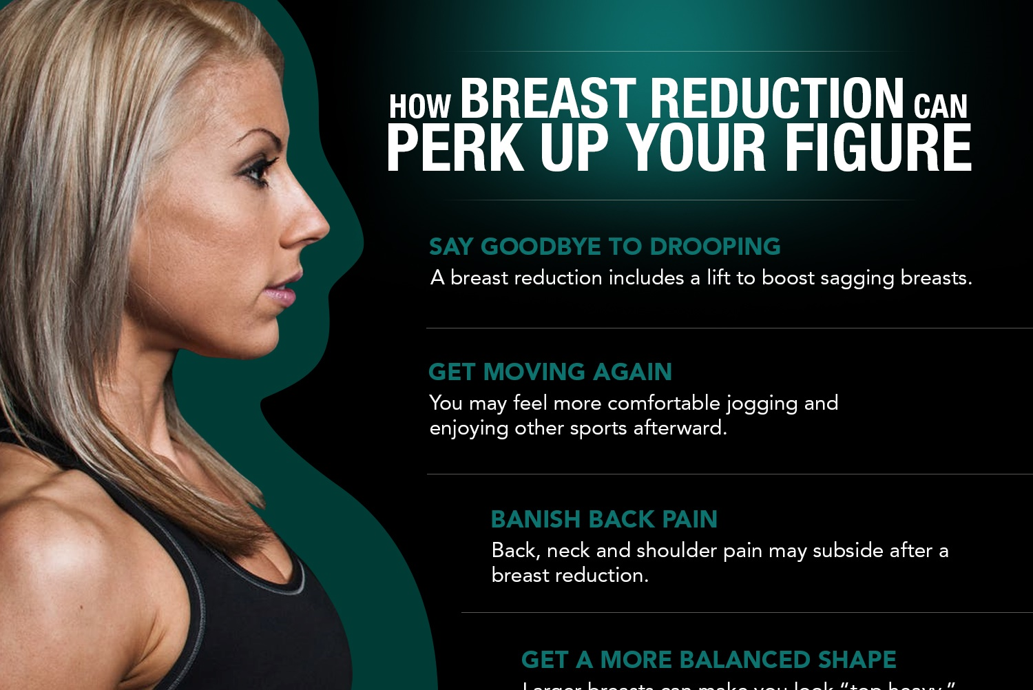 How Breast Reduction Can Perk Up Your Figure [Infographic]